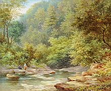 WILLIAM WARD GILL (British 1823-1894) A PAINTING,