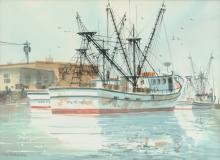 HARRISON (American 20th Century) A PAINTING,