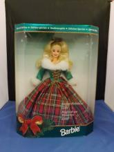 Happy Holidays Gala Barbie in Box