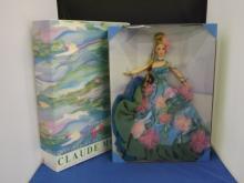 Claude Monet Barbie in Box