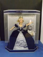 Millenium Princess Barbie Blue Dress in Box