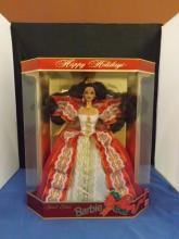 Happy Holidays Barbie in Box