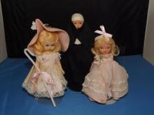 Lot of 3 Vintage Storybook Style Dolls