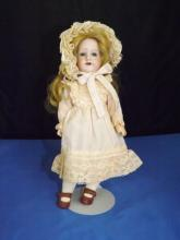 Victorian Porcelain Doll - Marked