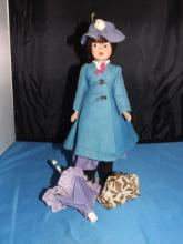 Vintage Mary Poppins Doll by Horseman