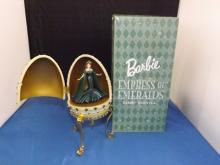 Empress of Emeralds Barbie Resin Egg
