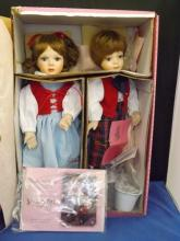 Treasury Collection Jack & Jill Dolls