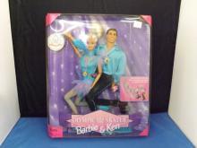 Barbie & Ken Olympic Skater Set