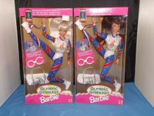 Olympic Gymnast Barbie Pair - Autographed