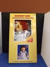 Raggedy Ann Commemorative Stamp Doll