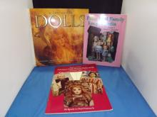 Lot of 3 Doll Books