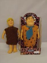 Fred Flintstone & Barney Rubble Dolls