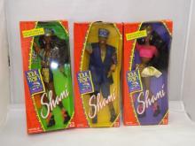 Lot of 3 Soul Train Dolls