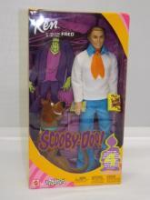 Scooby-Doo - Ken as Fred Doll & Scooby