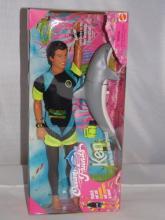 Ocean Friends Ken Doll & Dolphin