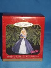 Hallmark Barbie Millenium Princess Ornament