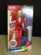 Barbie For President 2004 Doll - In Box
