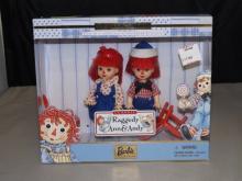 Raggedy Ann & Andy Dolls by Barbie - In Box
