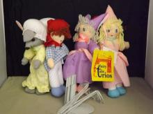 2 Sets of Dolls by Fairy Tale Trios
