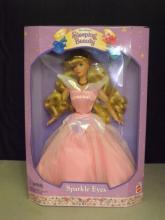 Sleeping Beauty - Sparkle Eyes Doll - In Box