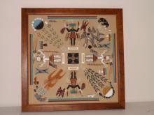 LARRY HARRISIN - Indian Sand Art