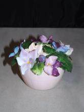 Royal Adderley Fine Bone China Flower Basket