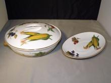 Royal Worcester - Evesham Covered Dish/Oblong Tray
