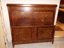 Full Size French Marquetry Inlaid Bed