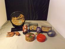 Lot of 9 Oriental Items