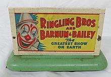 American Flyer  Ringling Bros. & Barnum & Bailey  Bill Board