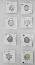 8 pc Wasington Quarters