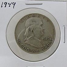 1949 Franklin Half