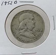 1952D Franklin Half