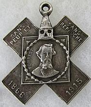 Hero Cross Forrest 1866-1915 Pendant 1.50