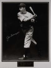 Joe DiMaggio autographed large format limited edition photograph