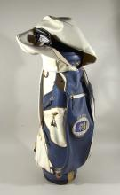 Johnny Bench personal set of golf clubs