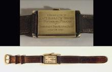 1927 Pie Traynor presentational wristwatch - Pirates National League Championship season