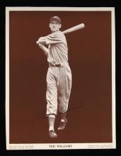 Rare Ted Williams autographed photograph c