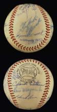 1965 National League All-Star Game team autographed baseball