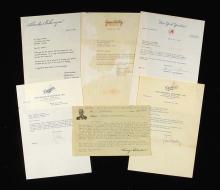 Cache of correspondence to George Sosnak c