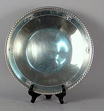 Large Sterling Silver Tray
