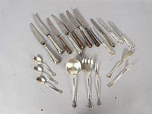 Continental Silver Flatware and Serving Pieces