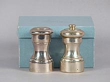 Tiffany & Co. Salt Shaker & Pepper Grinder