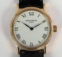 Patek Philippe 18K Gold Ladies Watch