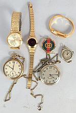 Assorted Pocket & Wrist Watches