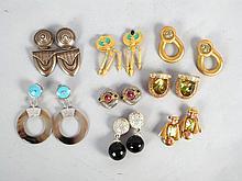 Assorted Earrings & Ear Clips