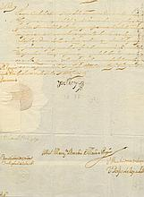 [CHARLES II]: (1661-1700) King of Spain 1665-1700. Manuscript Document, with stamped signature, (´Yo El Rey´), one page,