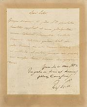 PIUS IX: (1792-1878) Pope of the Roman Catholic Church 1846-78. A.N.S., Pius PP IX, one page, 4to, Rome, 21st May 1852,