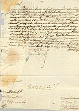 [PHILIP IV]: (1605-1665) King of Spain 1621-65 and King Philip III of Portugal 1621-40. D.S., with a stamped signature (