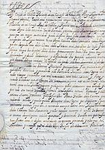 [PHILIP IV]: (1605-1665) King of Spain 1621-65 and King Philip III of Portugal 1621-40. D.S., Yo el Rey, two pages, foli